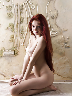 Showy Beauty  Red Fox  Red Heads, Big tits, Boobs, Breasts, Tits, Skinny, Striptease